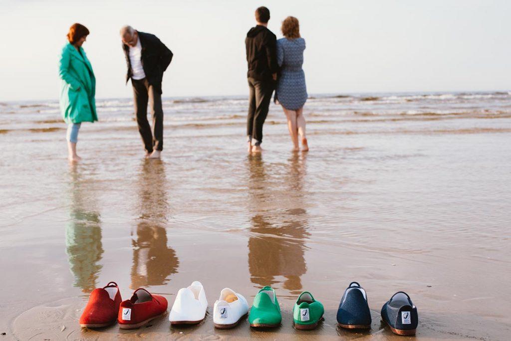 Javer batai spalvoti