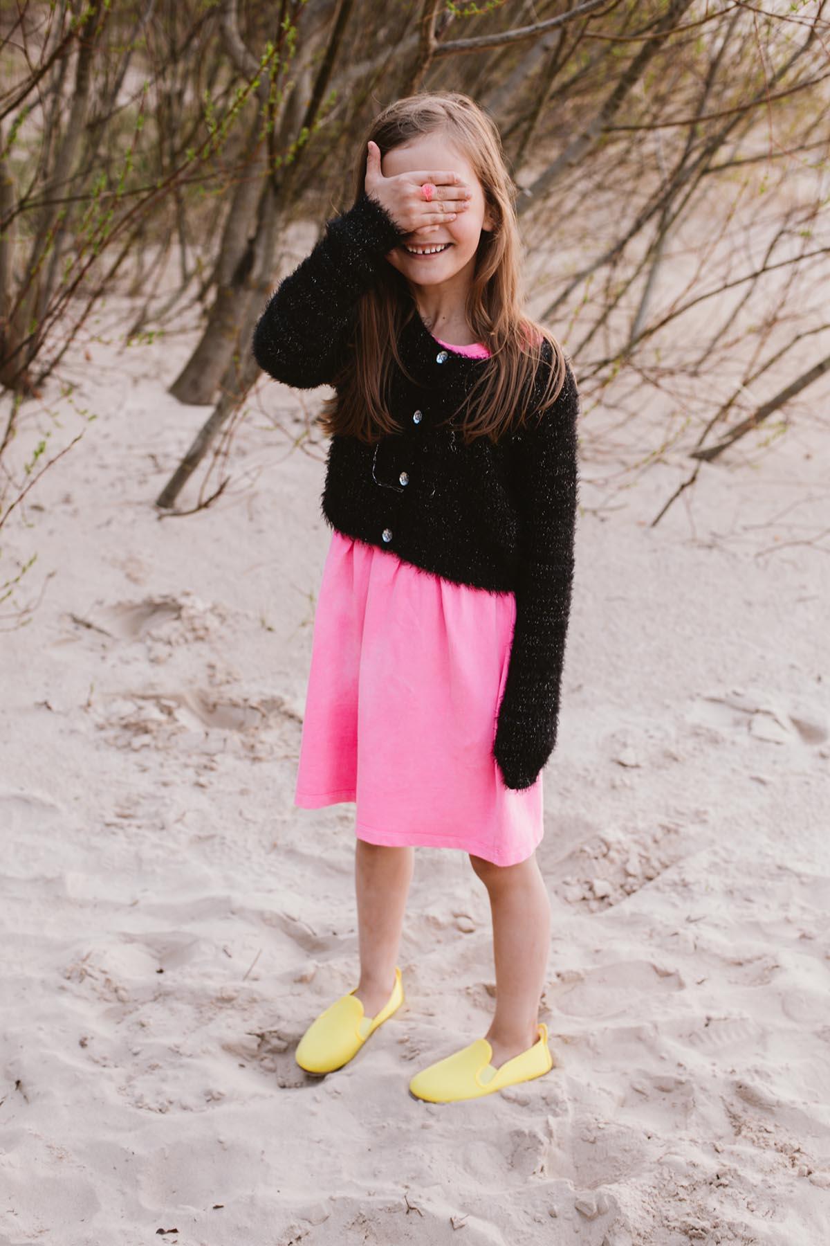 Javer batai vaikiski geltoni